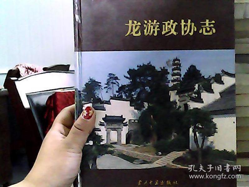 龙游政协志