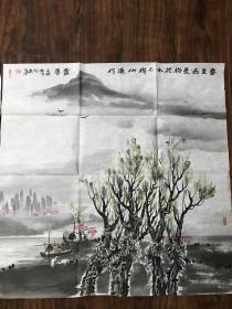 著名画家王俊松精品山水5