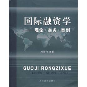 国际融资学:理论·实务·案例