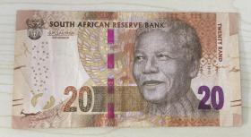 南非20兰特纸币 Twenty Rand  South African Reserve Bank Banka-kgolo ya Aforika Borwa (Tswana) lBulungelo-mali eliKhulu leSewula Afrika (South Ndebele) Lesetja Kganyago L. Kganyago Governor