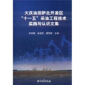 """大庆油田萨北开发区""""十一五""""采油工程技术实践与认识文集"""