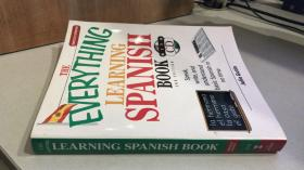 The Everything Learning Spanish Book With Cd: Speak Write And Understand Basic Spanish In No Time(附光盘).