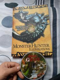 怪物猎人G级攻略游戏光盘+厚书说明
