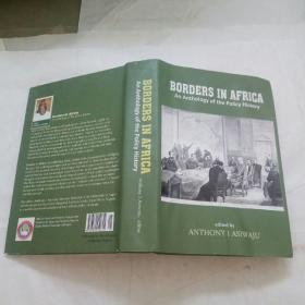英文原版书:BORDERS  IN  AFRICA  An Anthology  of  the Policy  History(非洲边界政策史选集)