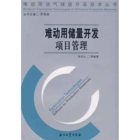 难动用油气储量开采技术丛书 难动用储量开发项目管理