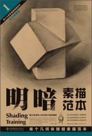 单个几何体明暗素描范本