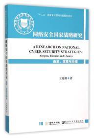 网络安全国家战略研究-由来.原理与抉择