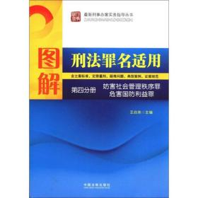 图解刑法罪名适用(第4分册):妨害社会管理秩序罪 危害国防利益罪