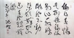 沈鹏*四尺书法精品*2003(买家自鉴)