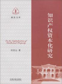 商法文库:知识产权资本化研究