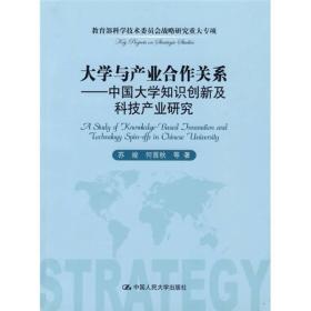 大学与产业合作关系:中国大学知识创新及科技产业研究