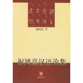 祝鸿熹汉语论集
