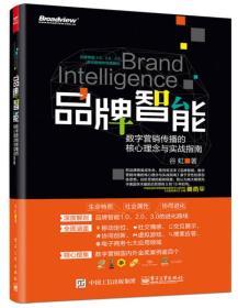 品牌智能:数字营销传播的核心理念与实战指南