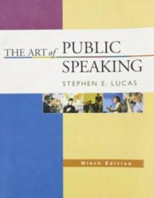 The Art Of Public Speaking  9th Edition