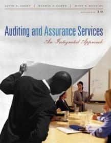 Auditing And Assurance Services (10th Edition) (charles T Horngren Series In Accounting)