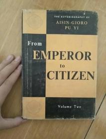 从皇帝到公民:我的前半生(下册,英文版)32开精装