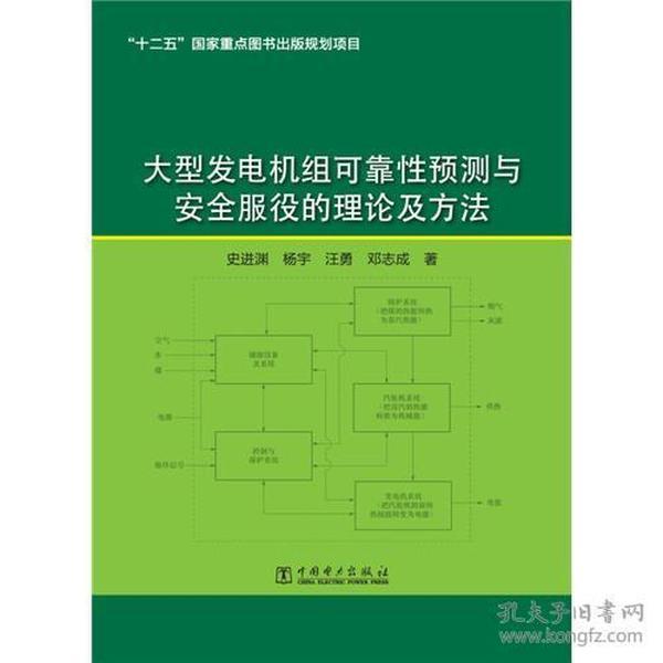 大型发电机组可靠性预测与安全服役的理论及方法