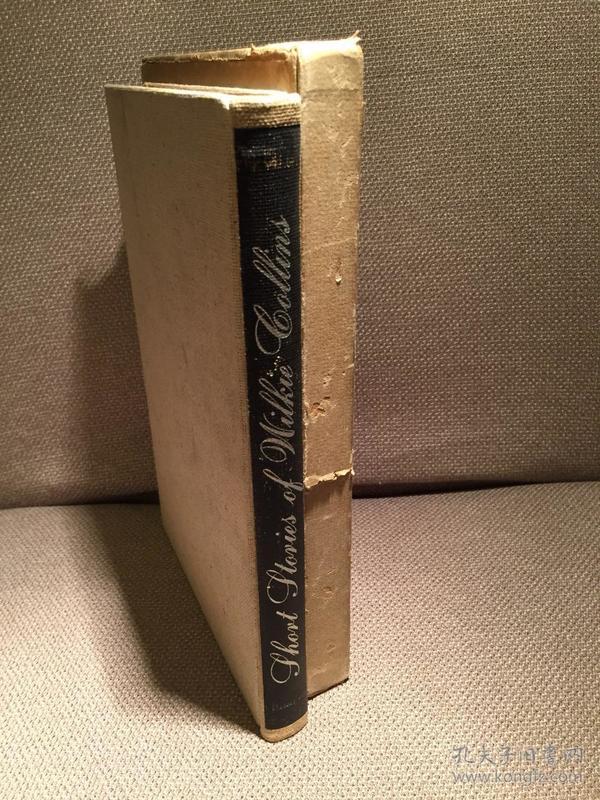 西文古旧书限印本:Short Stories of Wilkie Collins(《威尔基·科林斯小说选》,编号限印本,Fritz Eichenberg木刻插图,布面精装大开本,带书匣,1950年初版)