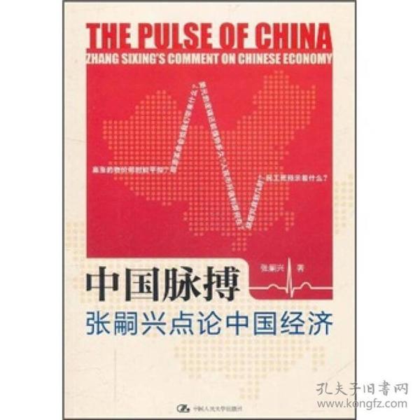 正版】中国脉搏--张嗣兴点论中国经济