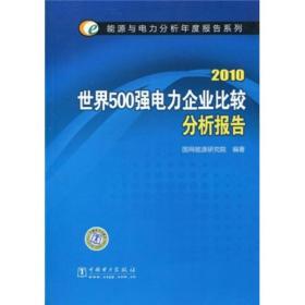 2010世界500强电力企业比较分析报告