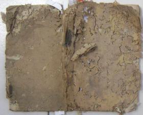 清或民手抄:书通用 收周堂礼式、六叩礼式、三献礼式、各类祭文 52页102面