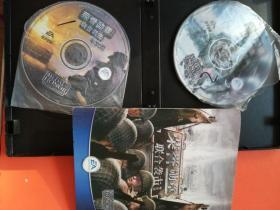 荣誉勋章联合袭击 游戏光盘2碟 手册