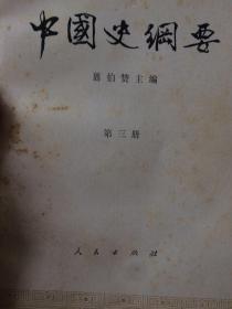 中国史纲要(第三册)