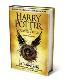 Harry Potter and the Cursed Child - Parts One & Two Rowling, J.K. Tiffany, John Thorne, Jack Little, Brown 2016-7-31 9780751565355