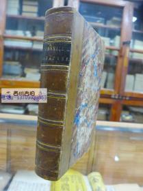 1878年 康希尔杂第37期一月至六月 英国古董书脊牛皮 精装文艺志 CORNHILL  MAGAZINE  VOL,XXXVII   JANUARY TO JUNE