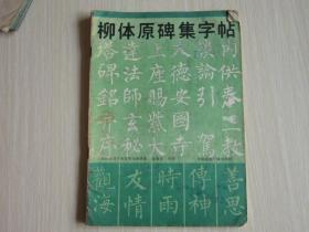 柳体原碑集字帖   中国国际广播出版社