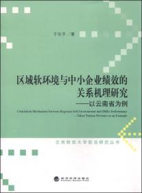 区域软环境与中小企业绩效的关系机理研究:以云南省为例