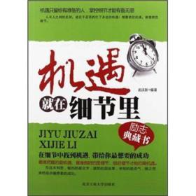 机遇就在细节里 武庆新 北京工业大学出版社 9787563931583