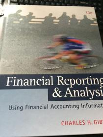Financial Reporting and Analysis财务报告及分析