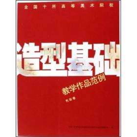 全国十所高等美术院校教学作品范例:造型基础(色彩卷)