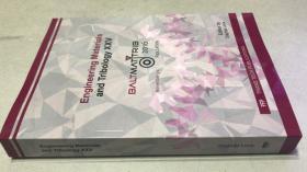 Engineering Materials and Tribology XXV 工程材料及摩擦学二十五