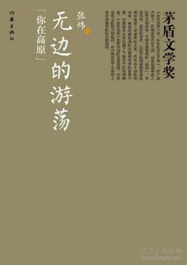 茅盾文学奖:无边的游荡