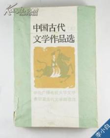 中国古代文学作品选上下册 北京大学出版社