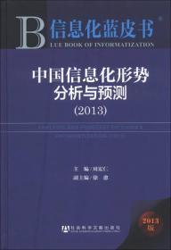 信息化蓝皮书:中国信息化形势分析与预测(2013版)