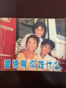 电影连环画《爱情啊,你姓什么?》.中国电影出版社