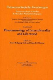 Phenomenology of interculturality and life-world  跨文化现象学与生活世界
