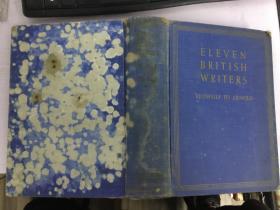 外文原版书eleven british writers十一个英国作家