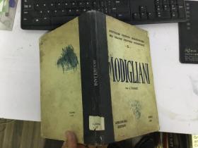 民国外文原版书modigliani莫迪里阿尼
