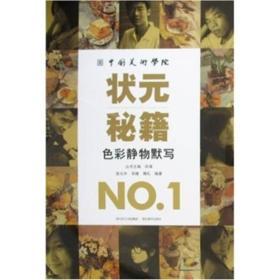 中国美术学院状元秘籍NO.1:色彩静物默写