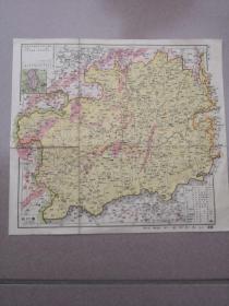 贵州·福建地图     (老地图)