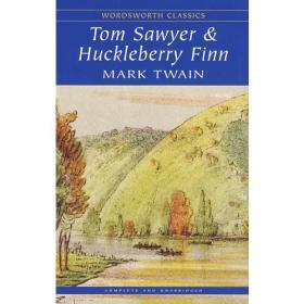 英文原版Tom Sawyer and Huckleberry 汤姆索亚历险记9781853260117(23-2)