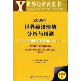 2009年世界经济形势分析与预测