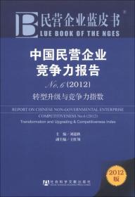 民营企业蓝皮书·中国民营企业竞争力报告No.6(2012):转型升级与竞争力指数(2012版)
