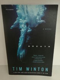 蒂姆·温顿 Tim Winton :Breath (澳大利亚) 英文原版书