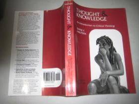 THOUGHT  AND  KNOWLEDGE  AN  INTRODUCTION  TO CRITICAL  THINKING FOURTH  EDITION【思维与知识批判性思维导论 第4版】