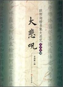 欧阳询楷书集大悲咒(写经选14)
